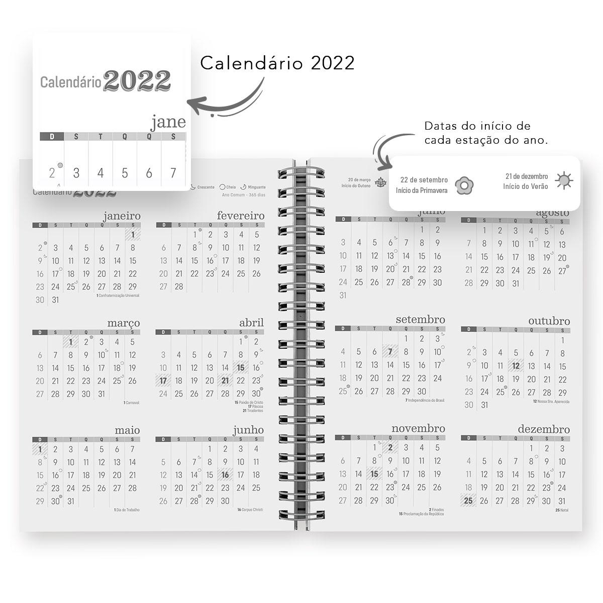 Agenda Personalizada Comercial Nail Designer 18x25cm